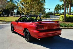 1998 Ford Mustang GT Convertible 4.6L Supercharged! 62,281 Miles