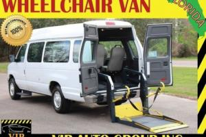 2012 Ford E-Series Van Handicap Wheelchair Van Power Liftt