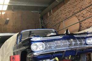 59 CHEVY BELAIR FULL RESTORATION / UNFINISHED PROJECT CHEAP 57 58 59 60