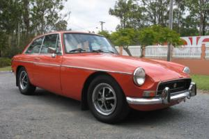 1973 mgb gt 4 speed manual with overdrive coupe rare sunroof BARGAIN MUST SELL