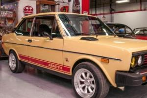 1978 Fiat Other 131 Supermirafiori Abarth Coupe Series 2
