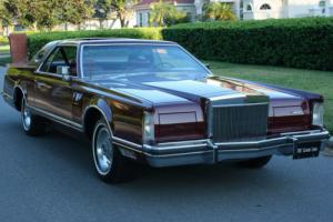 1977 Lincoln Mark Series MOONROOF