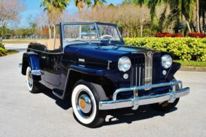 1949 Willys Jeepster Convertible Beautiful Restoration! Documented!