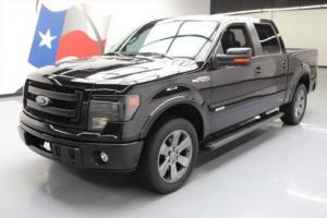 2013 Ford F-150 FX2 LUX CREW ECOBOOST LEATHER 20'S
