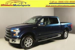 2015 Ford F-150 Lariat 4X4 CREWCAB NAV RCAM ECOBOOST 3.5L Photo