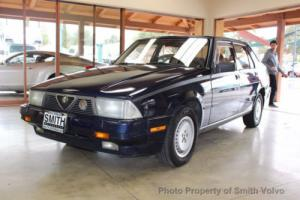 1987 Alfa Romeo Milano Gold Photo