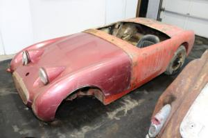 1960 Austin Healey Sprite Chassis only/No front Suspension