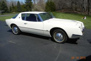 1963 Studebaker Avanti R-2 R-2 Body # RQ 3659 Photo