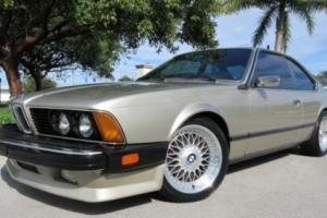 1985 BMW 6-Series 635 CSI
