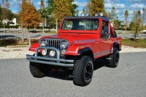 1981 AMC CJ-8 Scrambler 4.2L 4-Speed 4x4 Beautiful Restoration!
