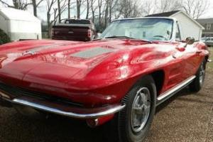 1963 Chevrolet Corvette Convertible Photo