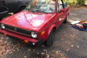 1987 Volkswagen Cabrio Photo