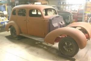 1937 Studebaker 4 Door Sedan