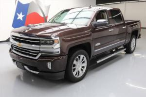 2016 Chevrolet Silverado 1500 SILVERADO HIGH COUNTRY CREW NAV 20'S