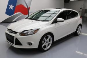 2013 Ford Focus TITANIUM HATCHBACK HTD SEATS NAV