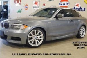 2012 BMW 1-Series Coupe AUTO,SUNROOF,LEATHER,B/T,18IN WHLS,57K,WE FINANCE