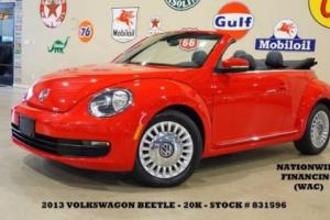 2013 Volkswagen Beetle - Classic 2.5L w/Tech AUTO,PWR TOP,HTD LTH,6 DISK CD,20K!
