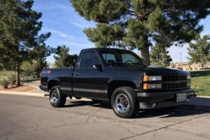 1990 Chevrolet C/K Pickup 1500 HEART BEAT OF AMERICA RARE BLACK ORIGINAL TRUCK
