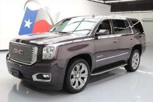 2015 GMC Yukon DENALI 7PASS SUNROOF NAV DVD 22'S