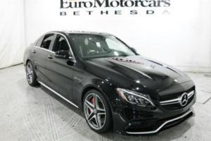 2016 Mercedes-Benz C-Class 4dr Sedan AMG C 63 S RWD