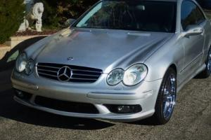 2003 Mercedes-Benz CLK-Class Photo