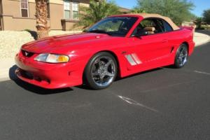 1997 Ford Mustang Saleen convertible
