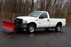 2007 Ford F-250 XL TURBO DIESEL SNOW PLOW PICKUP TRUCK 4WD 94k Mls