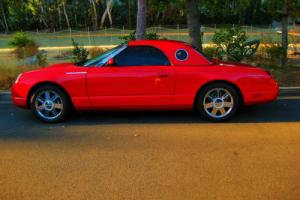 2005 Ford Thunderbird 50TH SILVER ANNIVERSARY FULLY LOADED