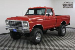 1978 Ford F150 RANGER EXPLORER 4X4 SHORT BED RESTORED