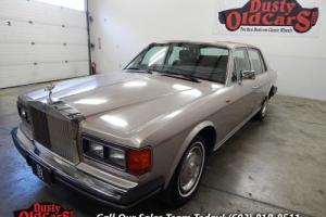 1986 Rolls-Royce Silver Spirit/Spur/Dawn Runs Drives Nice Elect Work Overall VGood