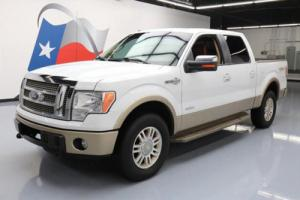 2012 Ford F-150 KING RANCH 4X4 ECOBOOST SUNROOF NAV