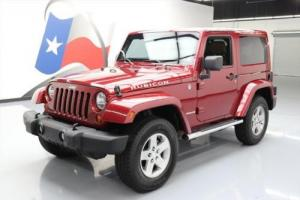 2012 Jeep Wrangler RUBICON 4X4 AUTO HARDTOP NAV Photo