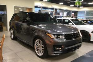 2015 Land Rover Range Rover Sport Sport Autobiography SuperCharged 5.0L Navigation / Pano Roof