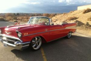 1957 Chevrolet Bel Air/150/210 PRO TOURING  - CUSTOM CONVERTIBLE BEL AIR