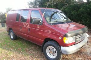 1999 Ford E-Series Van E350 Super Duty