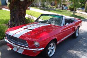 "1967 SHELBY GT 500 Convertible Tribute ""Ronster CALIFORNIA ROADSTER"" W/New Top"