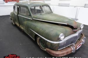 1947 DeSoto Suburban Project Parts Car 236 I6 4 speed auto