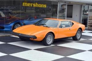 1974 De Tomaso Other Photo