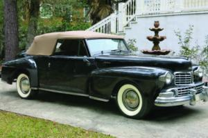 1948 Lincoln Continental Photo