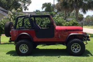 1986 Jeep Custom Cj 7