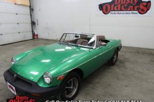 1980 MG MGB Runs Drives Body Int Good 1.8L 4spd