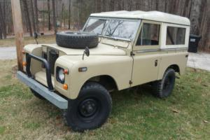 1971 Land Rover Defender Series IIA