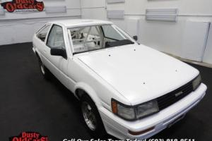 1985 Toyota Corolla Sport GTS Cage Setup for Racing Does Not Run