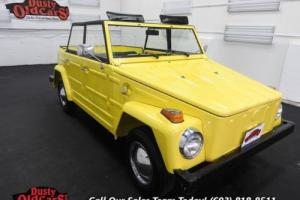 1973 Volkswagen Thing Runs Drives Body Int VGood 1.6L 4 spd man