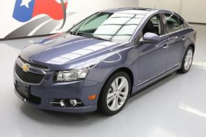 2014 Chevrolet Cruze LTZ RS HTD LEATHER SUNROOF NAV
