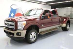 2012 Ford F-350 KING RANCH CREW 4X4 DIESEL DUALLY NAV