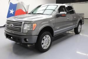 2012 Ford F-150 PLATINUM CREW ECOBOOST 4X4 SUNROOF NAV Photo