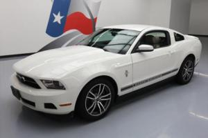 2012 Ford Mustang PREMIUM V6 PONY AUTOMATIC LEATHER Photo