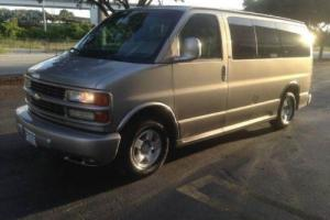 2002 Chevrolet Express 2002 EXPRESS CONVERSION VAN 7 PASSENGER