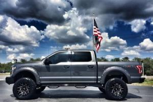 2016 Ford F-150 CUSTOM LIFTED LEATHER GO RHINO WINCH